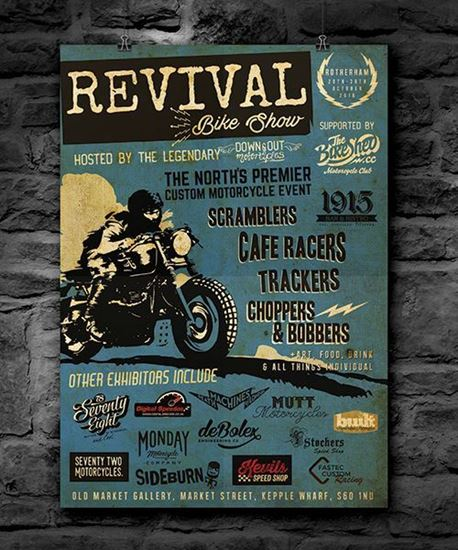 Picture of  Down & Out Revival Poster