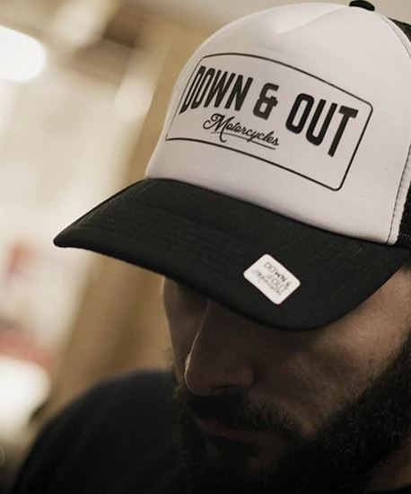 "Picture of Down & Out ""Boxed"" Label Cap"