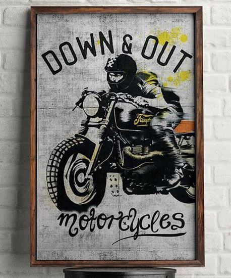 Picture of Down & Out Scrambler Poster