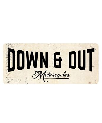 Picture of Down & Out Sticker Pack
