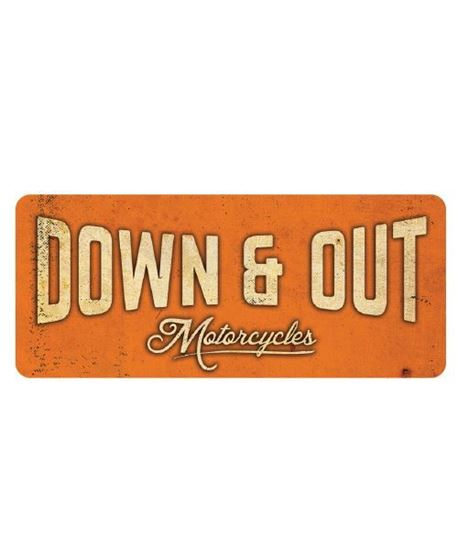 "Picture of Down & Out Sticker Pack - ""LOUD""!"