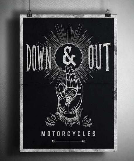 "Picture of Down & Out ""Mystic Hand"" Poster"