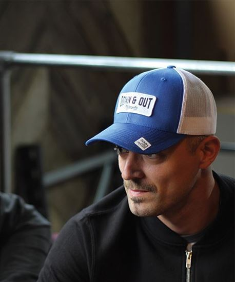 """Picture of Down & Out """"Racing"""" Cap"""