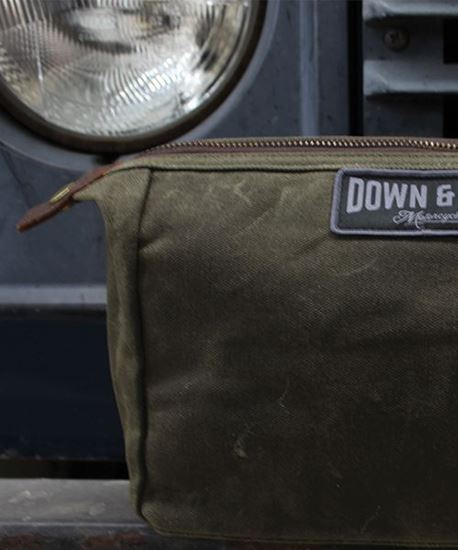 Picture of Down & Out Waxed Washbag